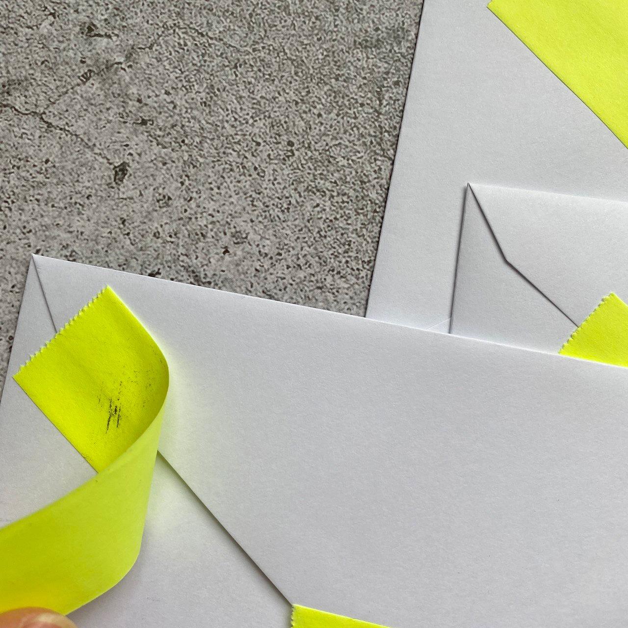 封筒の印刷インク汚れを防ぐ方法