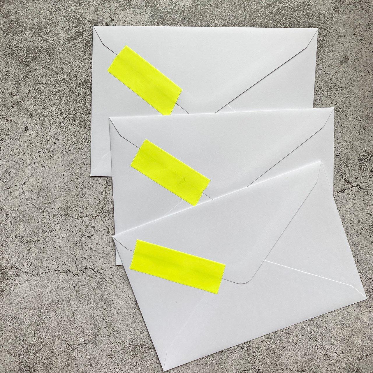 封筒印刷時のインク汚れ解決方法