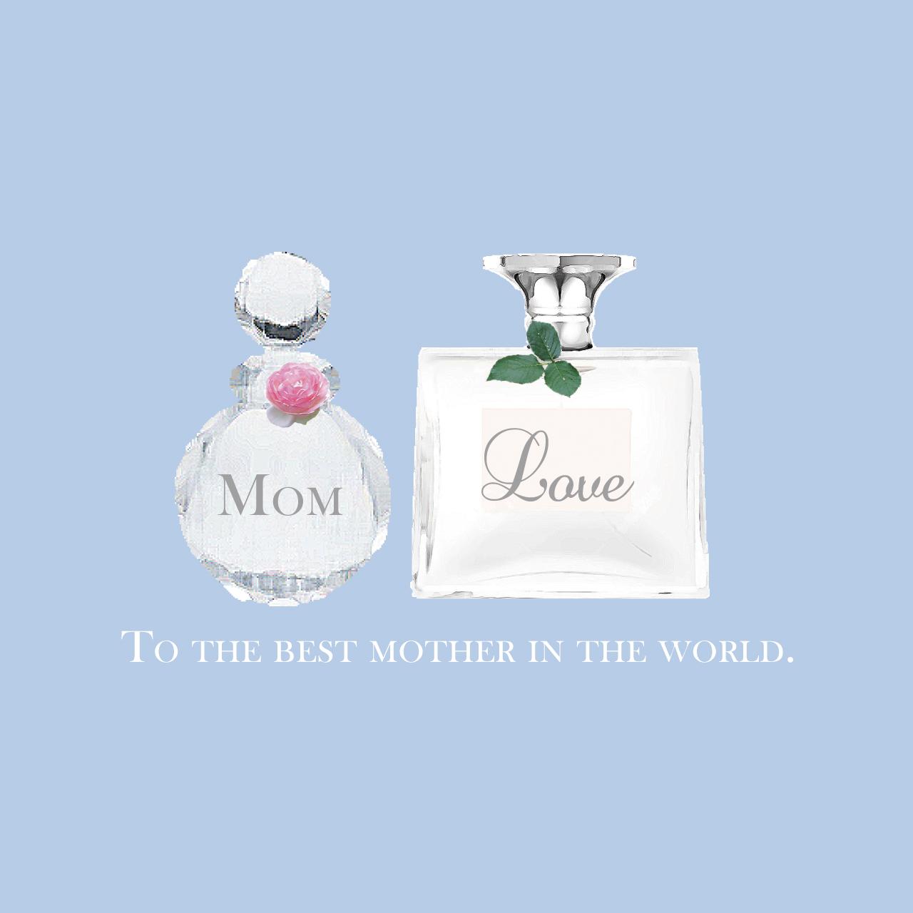 母の日ありがとう画像